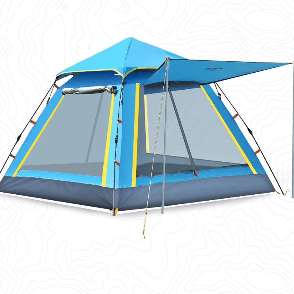 WSGZH Automatisches Strandcamping Familienreisezelt Geschwindigkeit Geöffnetes Vier-Jahreszeiten-Konto Top-Luxuszelt