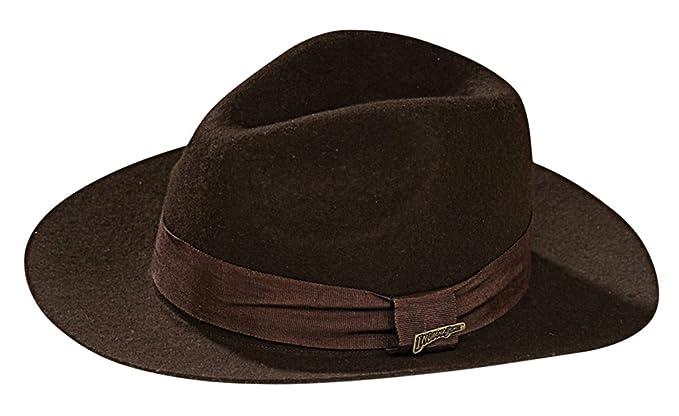 6d62f046e2545 Amazon.com  BESTPR1CE Indiana Jones Hat Deluxe Adult Costume Accessory   Clothing