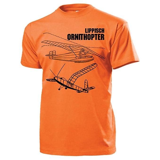Copytec lippisch ornitóptero Avión Prototipo Modelo Blande Libélula de  Vuelo Avión Aire Arma Brote alas tragfläche Planeador - Camiseta   13613   Amazon.es  ... 9c4e5733787c9