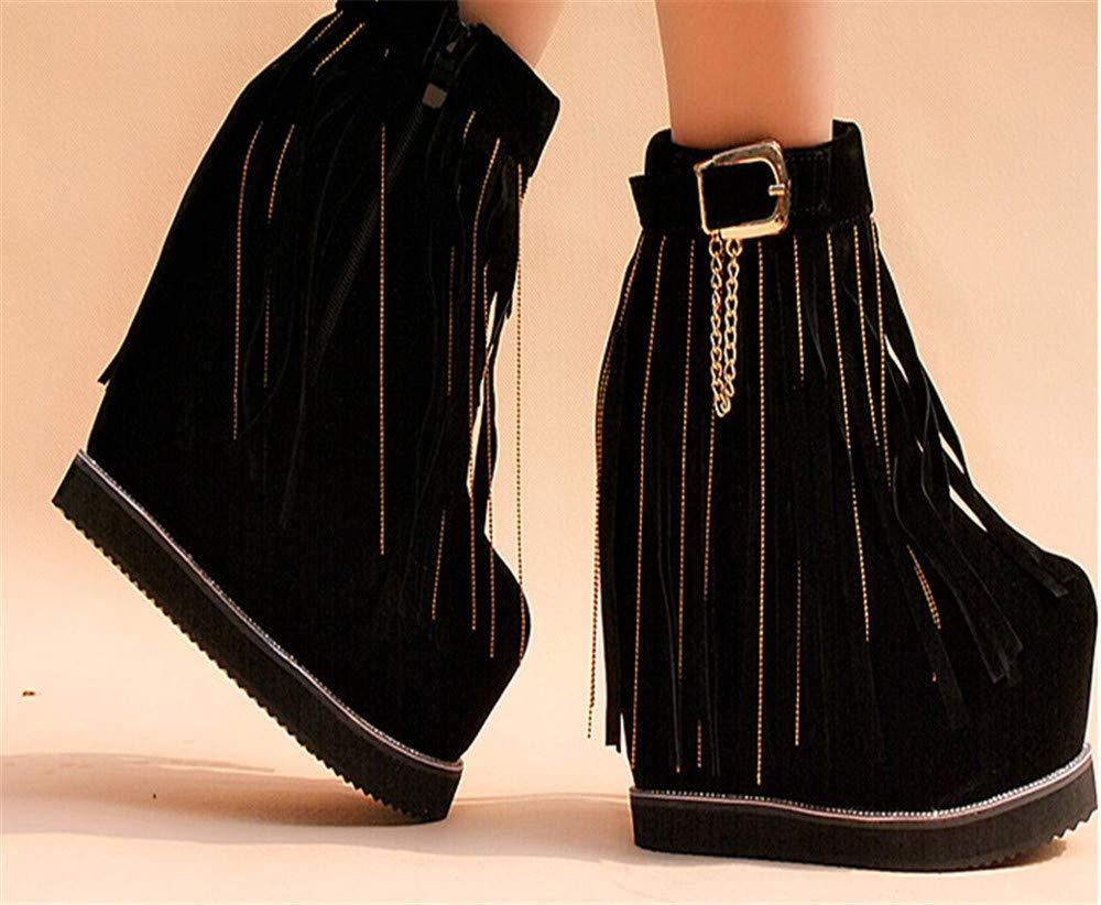 XLLQYY hochhackigen 14 cm hochhackigen XLLQYY Schuhe mit höheren roten hochzeits - Schuhe. 37a304