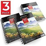 #9: Arteza Watercolor Pad, 3 Pack, 5.5