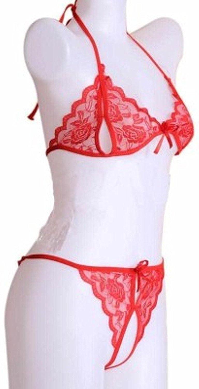 49d811efde Nighthope Women s 2 Pcs Bikni Set Nightwear  Amazon.in  Clothing    Accessories