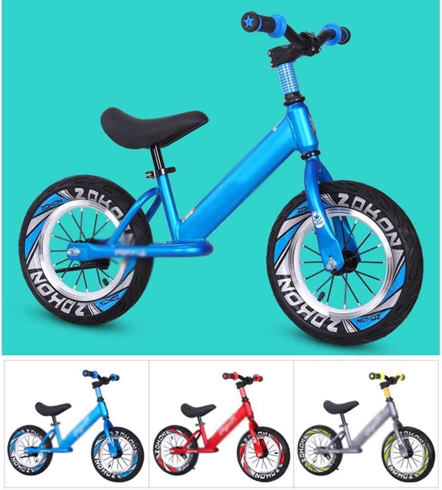 XRXX Bicicleta De Equilibrio para Niños Pequeños Mango Giratorio De 360 ° Sin Pedal Andador para Bebé Aleación De Aluminio Asiento Ajustable Altura Entrenamiento para Caminar Bicicleta Red: Amazon.es: Hogar