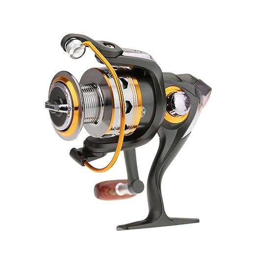 30 opinioni per Bnt- Mulinello per la pesca alla carpa e a spinning, 11BB 5.2:1, in metallo,