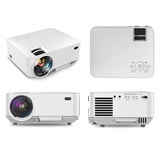 Webeauties 1500 Lumens LED Proyector HD, Proyector Multimedia ...