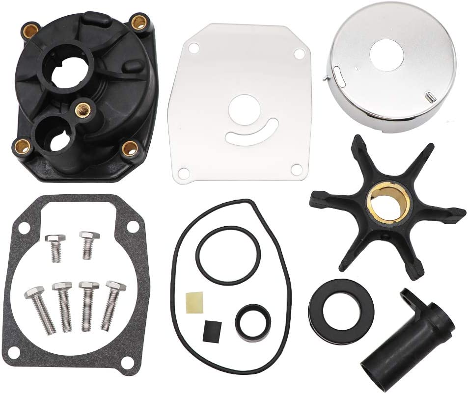 KIPA Impeller Water Pump Repair Kit for EVINRUDE Johnson 60 70 75 Hp 3 Cylinders Outboard Engines OEM Part Number 432955
