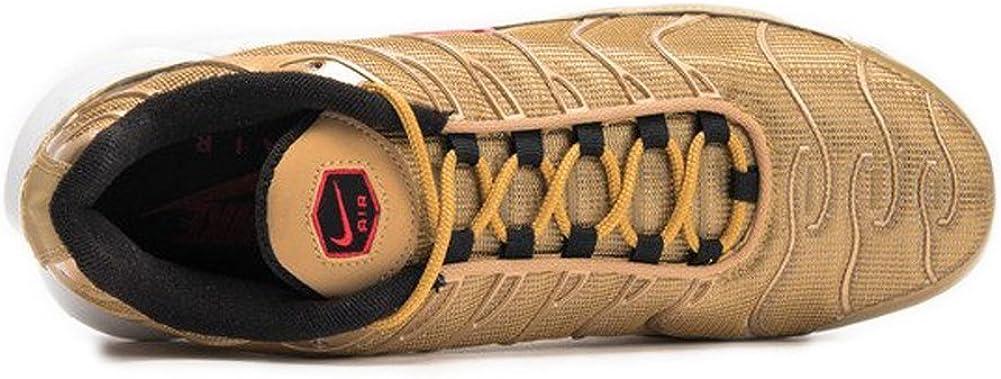 Zapatillas Nike – Air MAX Plus QS DoradoRojo Talla: 45,5