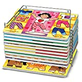 Melissa & Doug Wire Puzzle Storage Rack, Holds Review and Comparison