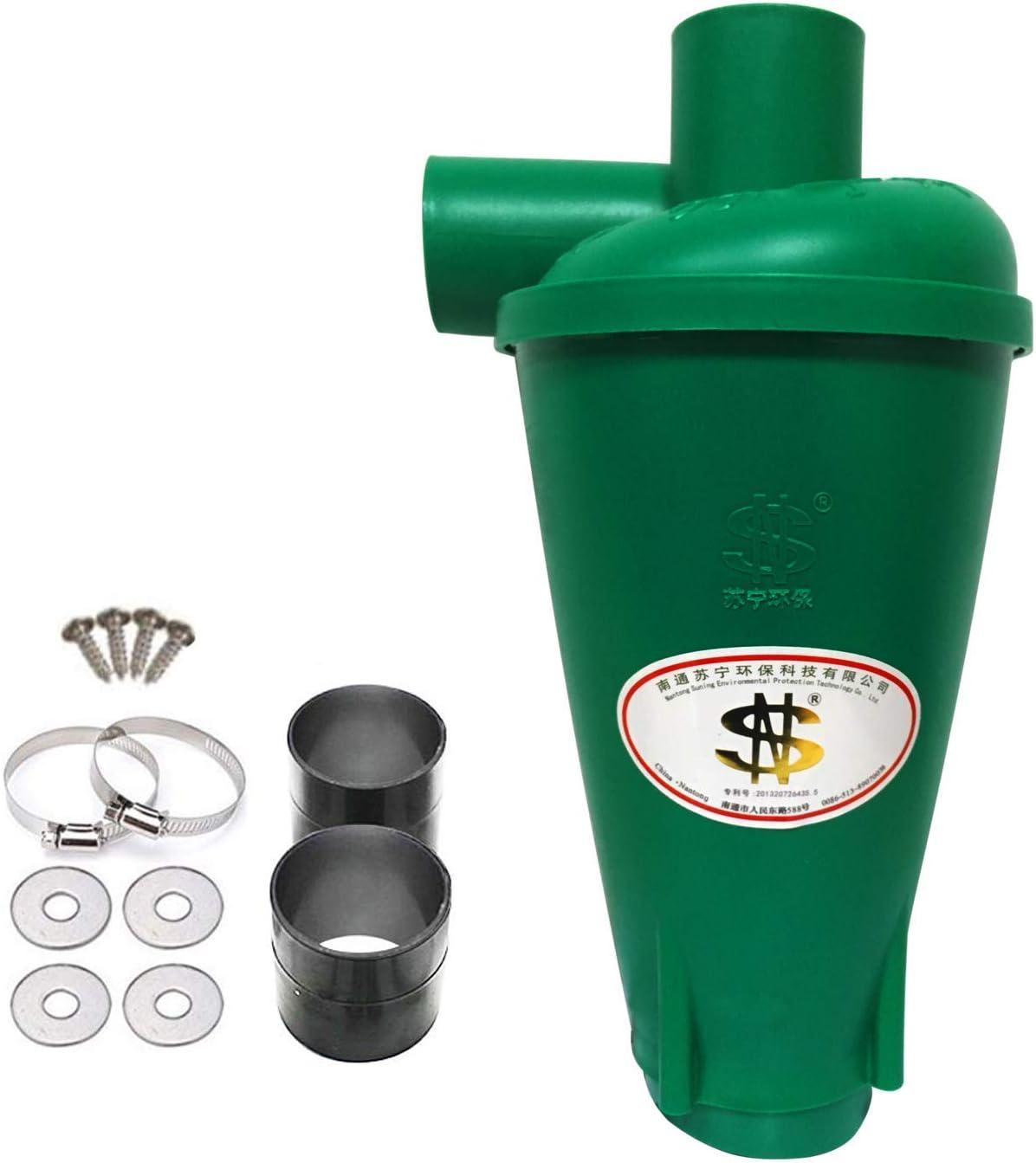 KKmoon Colector de polvo,Extractor industrial,Aspiradora cicl/ónica,Aspiradora Filtro de separaci/ón