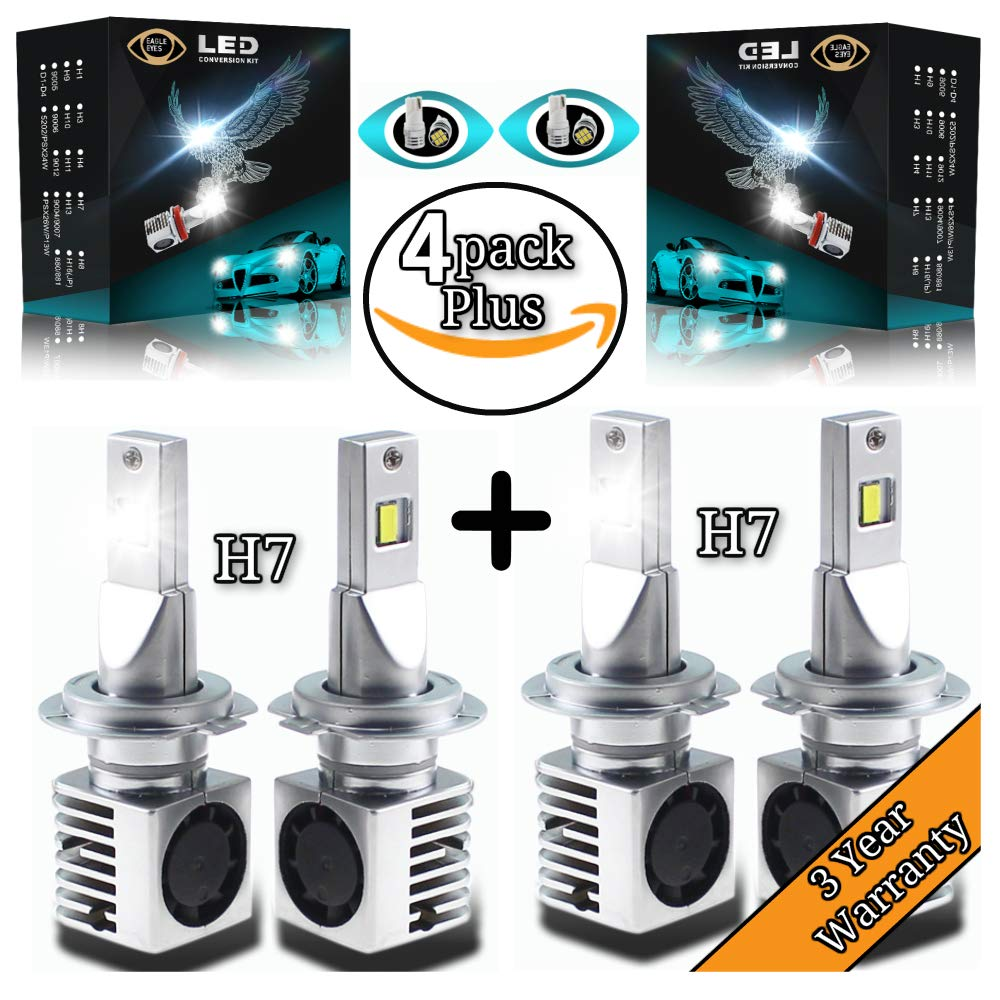 Fog Light Plug & Play 3X Brighter Bonus 2 Accent Led Bulbs Non ...