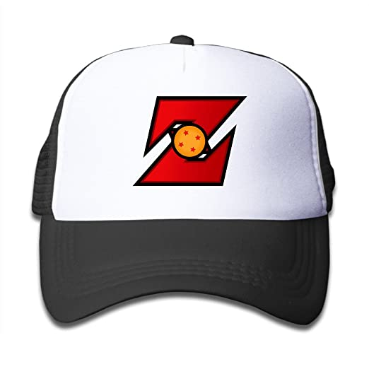 2d5195c3a8a52 Amazon.com  For Little Kids Style Dragon Ball Z Primary Logo Design Mesh Trucker  Cap (6311343503726)  Books