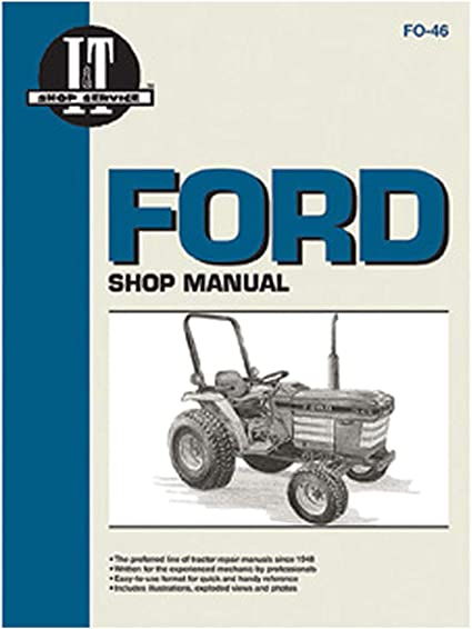 Complete Tractor 1115-2233 Service Manual for Ford New Holland Tractor 3230 3430 3930 4630 4830 Black