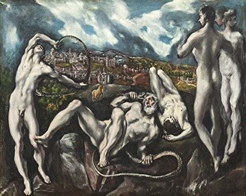 PAINTING EL GRECO LAOCOON XXL POSTER WALL ART PRINT (Greco Painting)