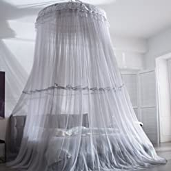 Moustiquaire pour chambre denfant Dome Dream Champion sac de compression sous vide Moustiquaire bleu ciel