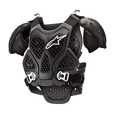 Alpinestars Bionic Motorcycle Chest Protector, Black/Cool Gray, XS/S: Automotive