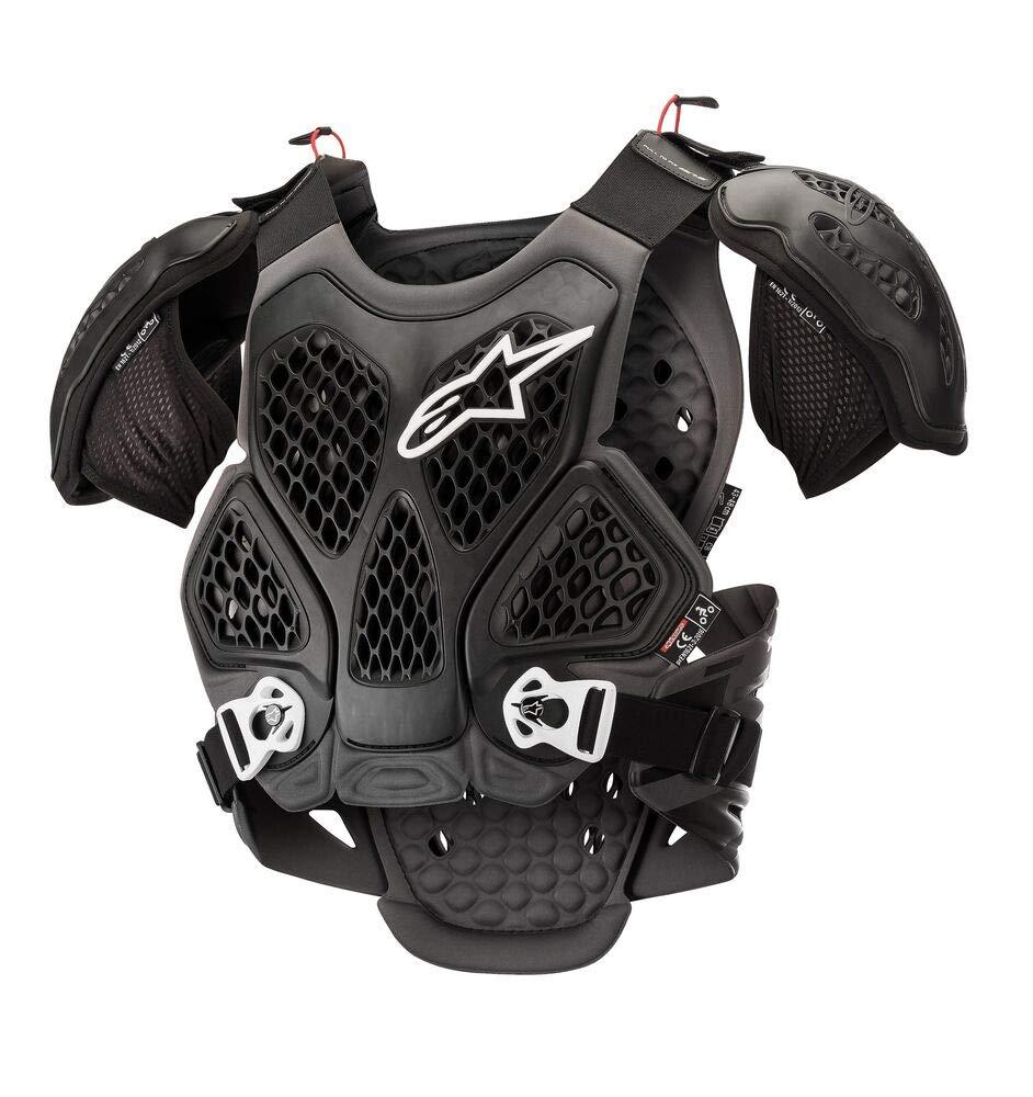 M//L, Black Cool Gray Alpinestars Bionic Chest Protector