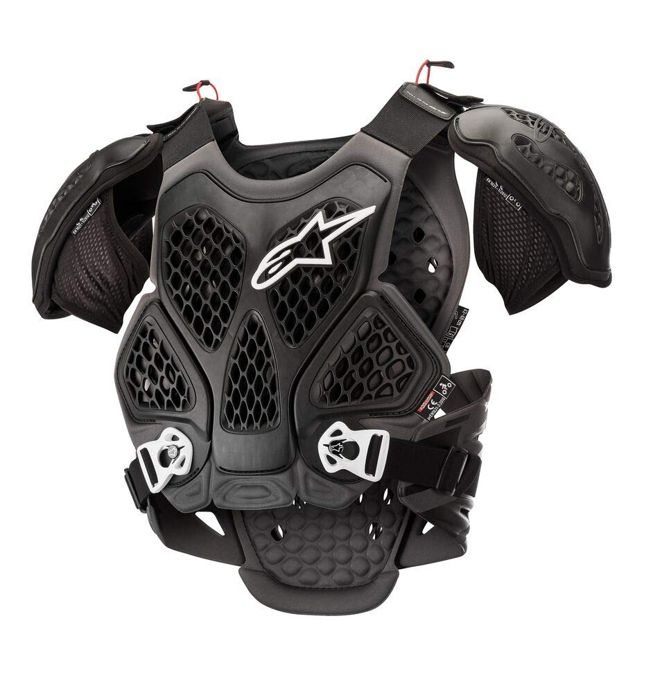 Alpinestars Bionic Chest Protector (M/L, Black Cool Gray) by Alpinestars