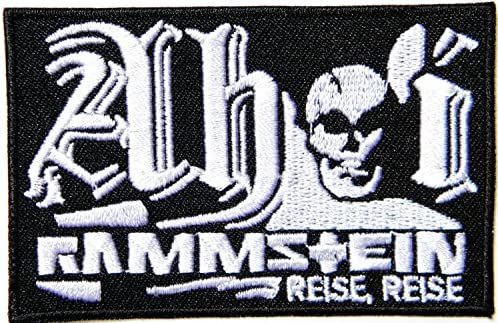 Rammstein Reise Reise Heavy Metal Rock Punk banda de música Logo ...