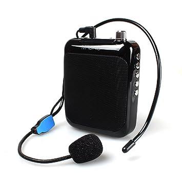 Megaphon Tragbares Audio & Video Stimme Verstärker Portable Professional Lehrer Mikrofon Megaphon Mit Fm Wiederholen Und Musik-player Verwenden Für Trainer Tour Guides