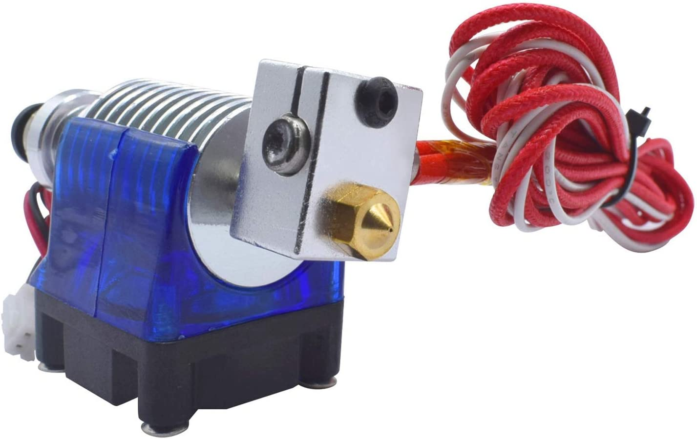 Garganta de Boquilla de 5 Piezas para Impresoras 3D V6 Makerbot Reprap 24V Nrpfell Kit Completo Hotend de Cabeza de Estilo J con Cabezal de Impresi/óN de Extrusora de 5 Piezas