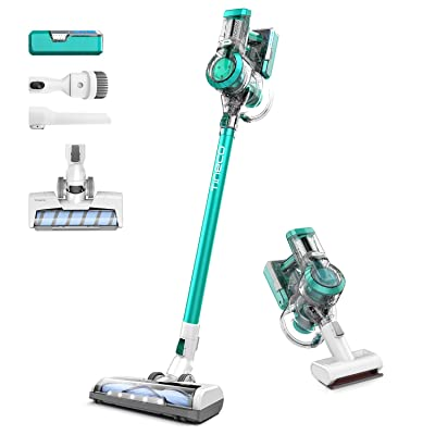 Tineco A11 Master+ Cordless Vacuum Cleaner, 450W Rating Power High Suction, Handheld Stick Vacuum Dual Charging Wall Mount, 2 Year Warranty