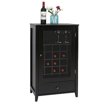 amazon com peach tree sideboard cabinet wine storage wine cabinet