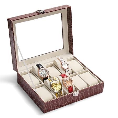 10 ver cuadro/Relojes reciben colección de cajas/ regalo de ...
