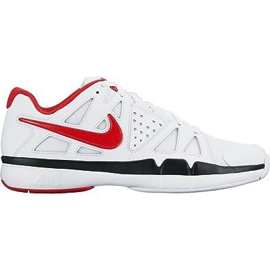 Nike Air Vapor Advantage White/Black/University Red Men's Tennis Shoes