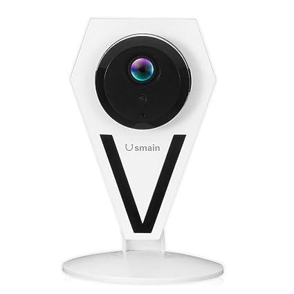 usmain HD 960P mini WiFi Cámara IP de hogar/inalámbrica de interior Casa de seguridad