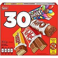 NESTLÉ MINIS Assorted Bars - KITKAT, Coffee Crisp, AERO, Smarties - 303g (Pack of 30 Mini Bars)