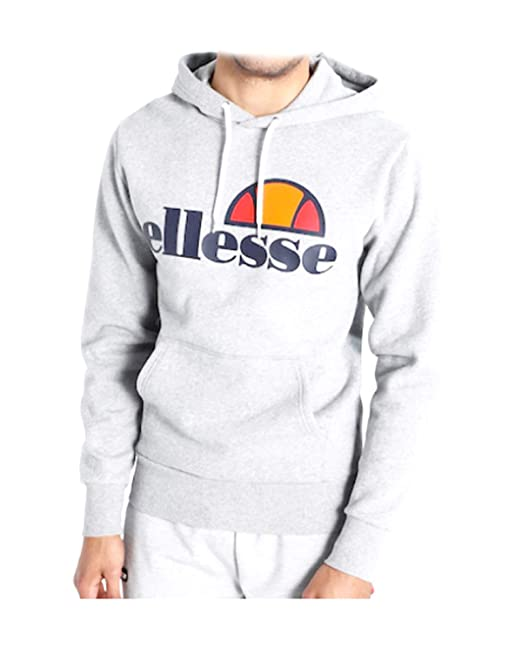 d16b19095b Ellesse Felpa Uomo 792010 White ss19: Amazon.it: Abbigliamento
