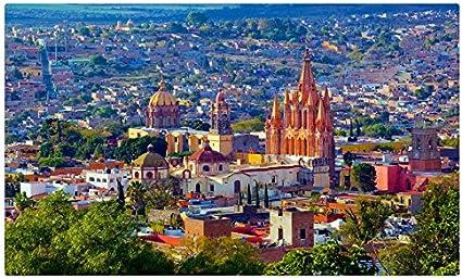Casas de México, San Miguel de Allende las ciudades sitios de viajes postal Post tarjeta: Amazon.es: Oficina y papelería