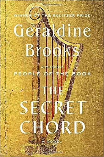 Amazon The Secret Chord A Novel Geraldine Brooks Livres
