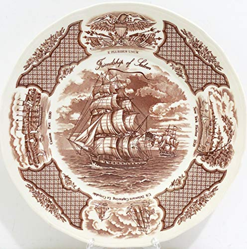 Fair Winds China Dinner Plate - Brown ()