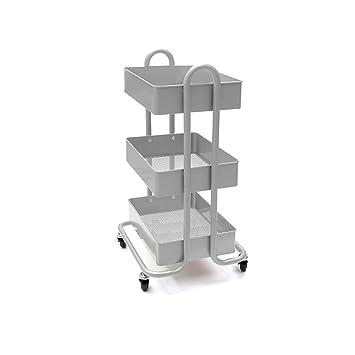 Amazon.com: Mind Reader - Carro de metal para archivos ...