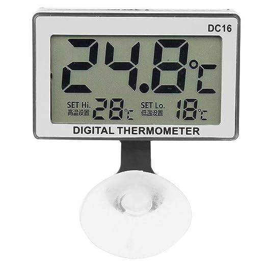 Acouto Dc16 Mini termómetro con Ventosa Digital LCD Termómetro ...