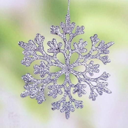 Ornamento de vacaciones con cuentas Kit-copos de nieve brillantes hace 3