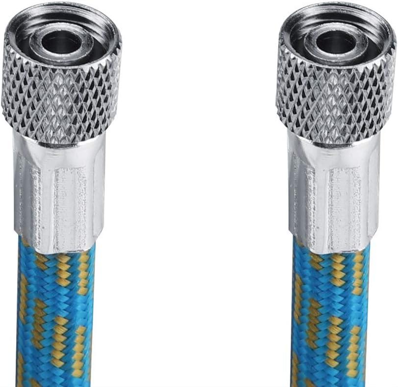 Braided Air Hose 1.8M Braided Airbrush Hose Compressor Air Tool 1//8 to 1//8 Adaptor Fitting