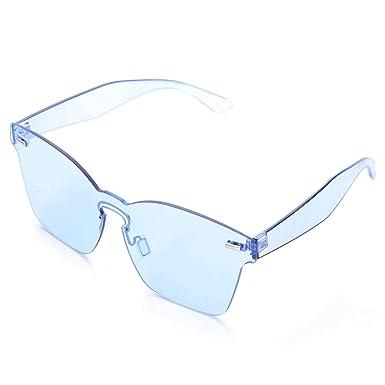 Amazon.com: Sodial - Gafas de sol para mujer de verano sin ...