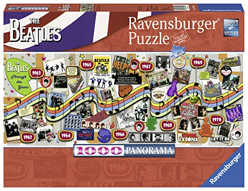 Ravensburger Beatles Through The Years Puzzle Set (1000 Piece)