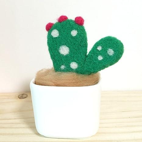 134789a661856 artec360 Cactus aguja fieltro agujas de Kits con base -