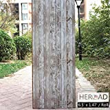 Distressed Wood Wallpaper Wood Plank Wallpaper Self Adhesive Removable Wallpaper Stick and Peel Reclaimed Wood Wallpaper Barn Wood Wallpaper Rustic Wood Wallpaper Wood Look Shiplap Wallpaper 6.5Ft