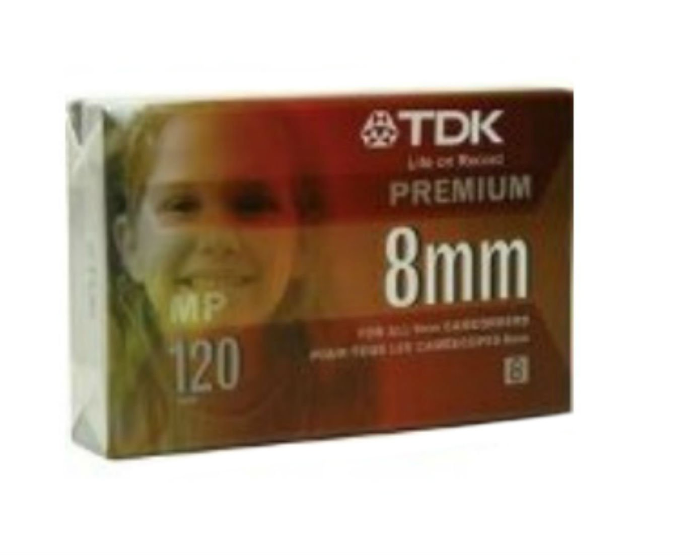 TDK P-120HS Premium 8mm Cassette Imation - Tdk P6-120MPL Blank Media & Cleaning Cartridges