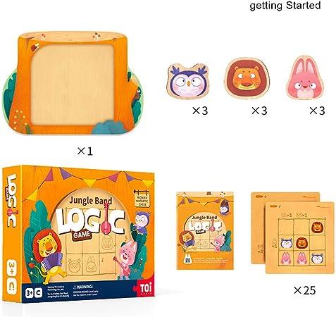Puzzler Sudoku y Stem Toys, Juegos de Mesa magnéticos Número Puzzle Travel Toy, IQ Game El Rompecabezas más Nuevo para niños de 3 a 8 años,Beginner: Amazon.es: Hogar