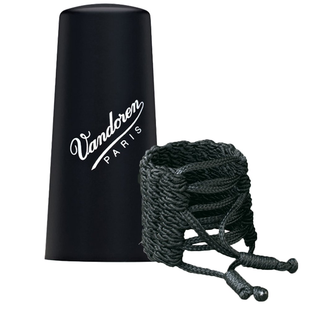 Vandoren LC31P Klassik Ligature and Plastic Cap for Bb Clarinet
