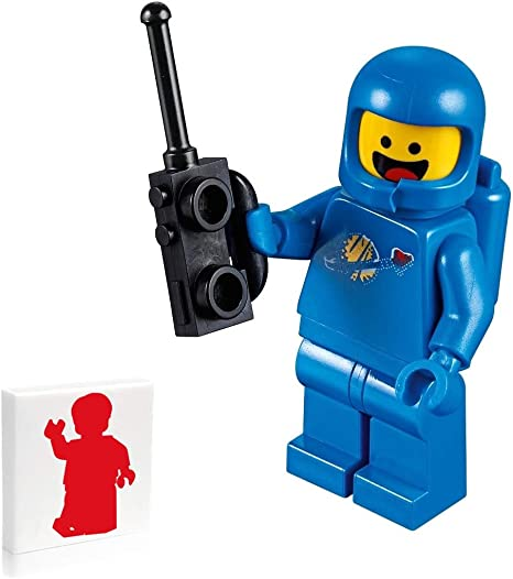 Scared The LEGO Movie 2 Minifigure Details about  /Lego Benny 70841 70821 Smile