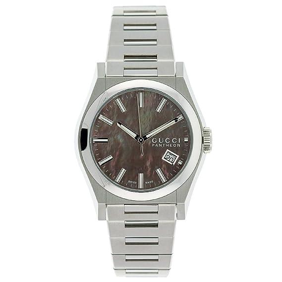 c3f08c9cca4 GUCCI Men s YA115401 115 Pantheon Watch  Amazon.ca  Watches
