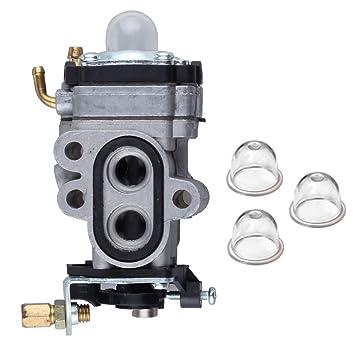 Salvador carburador con pera para Walbro wya23 wya231 wya401