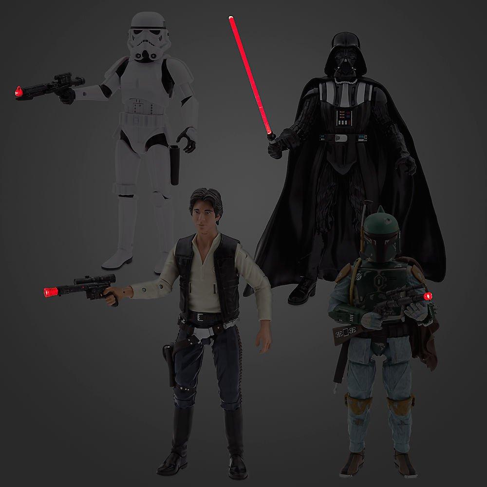 Star Wars Talking Action Figure Gift Set Disney 461014966513