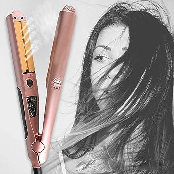 Amazon.com: Plancha y rizos de vapor para cabello ...